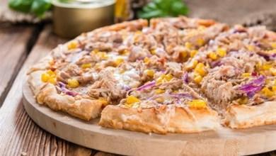 صورة بيتزا التونة
