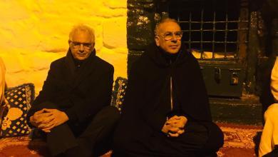 صورة نزار بركة في زيارة لضريح مولاي عبد السلام بن امشيش