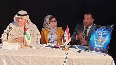 صورة البرفيسور غنام خضر يقدّم مسرح سناء الشعلان في تونس