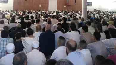 صورة عيد الفطر بديار الغربة بنفحات الوطن الحبيب من مسجد الرحمة بهوت بيار بستراسبورغ