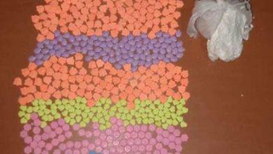 صورة فرقة الشرطة القضائية بطنجة توقف أحد مروجي أقراص الإكستازي ومخدر الكوكايين