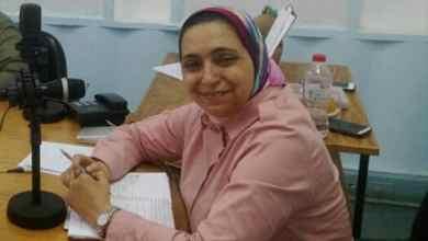 صورة حوار مع المذيعة بإذاعة الاسكندرية امل درويش