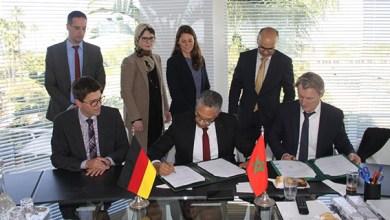 صورة التعاون بين المكتب الوطني للكهرباء والماء الصالح للشرب والبنك الألماني KFW يتعزز بهبة بقيمة 3 ملايين أورو