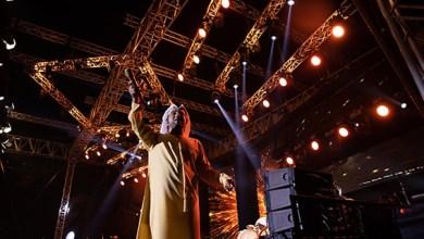 صورة حضور كبير في مسرح مهرجان الشيخ زايد التراثي بالوثبة