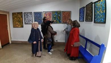"""صورة """"إشعاعات لونية"""" .. معرض فردي للفنان التشكيلي عبد اللطيف صبراني بالدار البيضاء"""