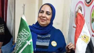 """صورة تكريم نادية ضاهر """"سفيرة السلام والإنسانية"""" بشهادة فخرية بدولة مصر"""