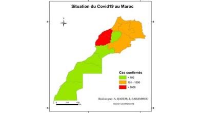 صورة خريطة جائحة كورونا بالمغرب : بين إجراءات الإحتواء والتداعيات المرتقبة