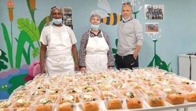 صورة كرونا وتضامن الحركة الجمعوية لجمعيةAMIبهوت بيار ستراسبوغ وجبة تضامن رمضانية