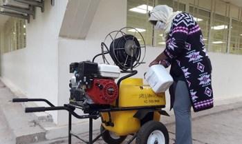 مندوبية وزارة الصحة باقليم بولمان تكثف مجهوداتها وتستنفر أطرها الصحية لمواجهة فيروس كورونا المستجد.2