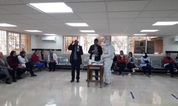 مندوبية وزارة الصحة باقليم بولمان تكثف مجهوداتها وتستنفر أطرها الصحية لمواجهة فيروس كورونا المستجد.8