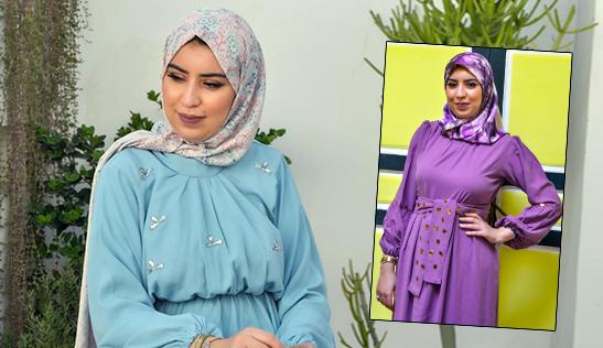 لقاء خاص مع مصممة الأزياء الصويرية سمات ليلى. محمد سعيد الاندلسي