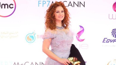 صورة لينا شاماميان تحيي حفل ختام مهرجان القاهرة السينمائي