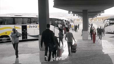 صورة سلطات طنجة تغلق أبواب المحطة الطرقية في وجه المسافرين بإستثناء حاملي الرخص