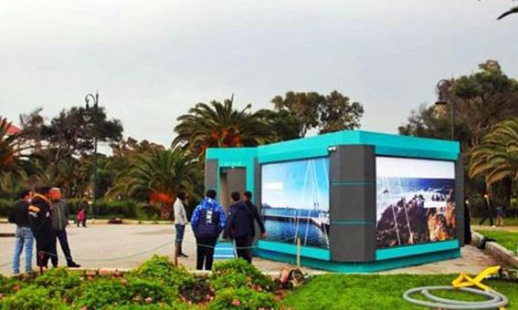 """خمسة مراحيض عمومية """"ذكية"""" مقابل مليون درهم في مدينة طنجة"""