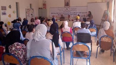 صورة التعاون الوطني بالفقيه بن صالح يواكب الحملة الوطنية للنهوض بحقوق الأشخاص في وضعية إعاقة