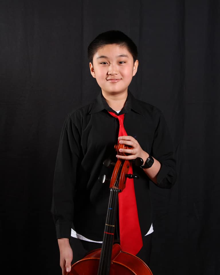 8th Grader Max, Cello