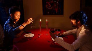 This was from the candlelit dinner exercise. Shot on Sony A35 Lens: Tamron 17-50mm F2.8.
