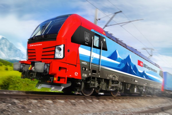 Designing the newest locomotive for Switzerland