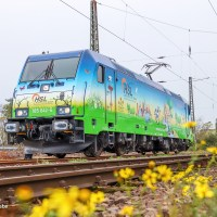 [DE] Meet the 'Eco Rider': 185 642 has a new livery (and a new owner)
