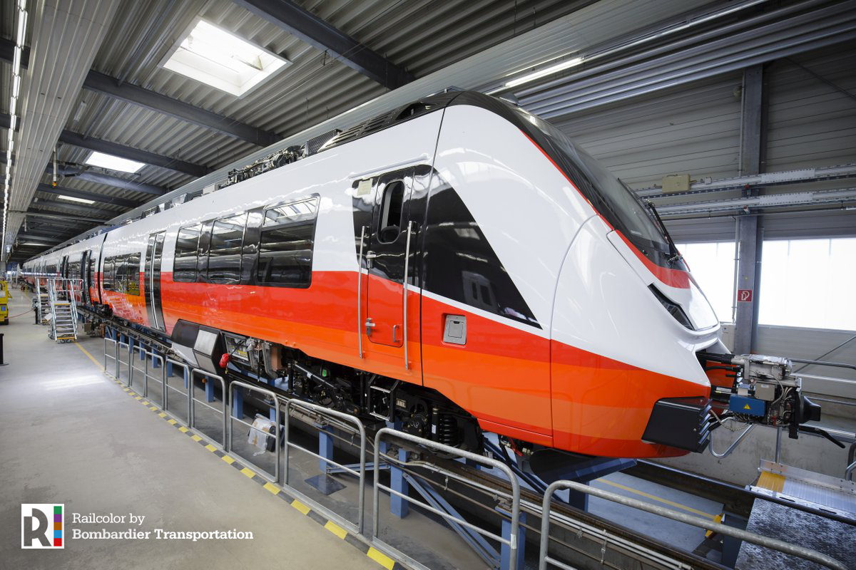 [AT] Sneak peek: the first ÖBB CityJet Talent3 in testing phase