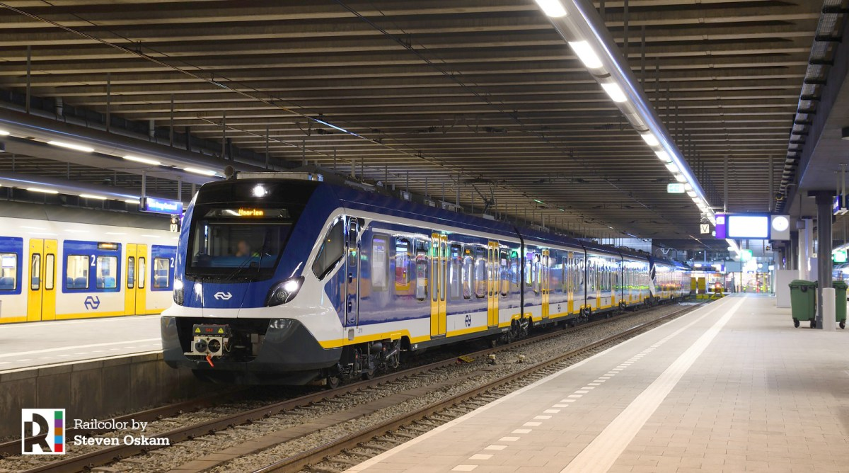 [NL] First revenue service with NS' new CAF Sprinter EMUs