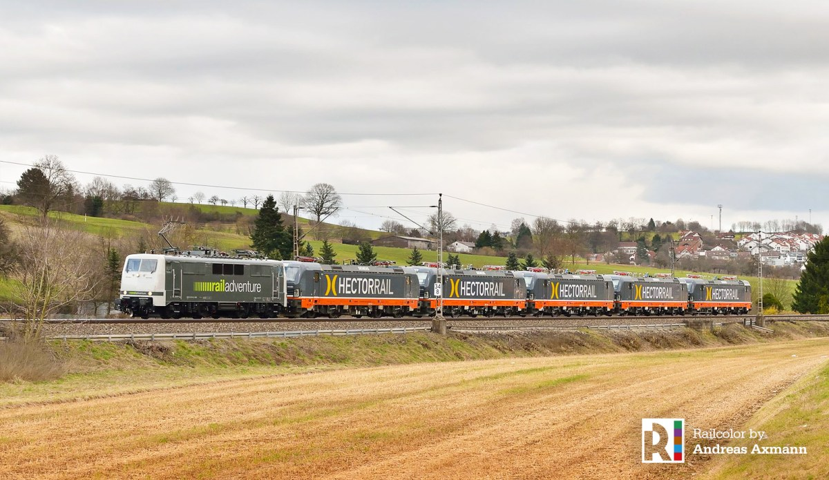[SE] 8x Vectron for Hector Rail on their way to Sweden [updatedx2]