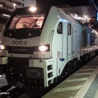 [DE] In the picture: This is eccorail's first EuroDual locomotive