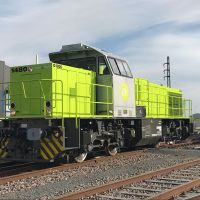 """[FR / Expert] Alpha Trains no. 1480 """"lime-ified"""" and ready to go"""