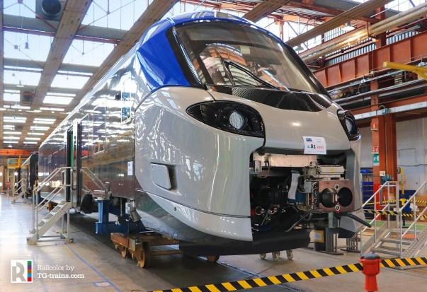 The new Coradia Stream for Trenitalia on 26.06.2018 - Photo: TG-trains.com