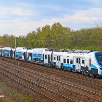 [FR] Pre-production RER NG train on its way to Raismes