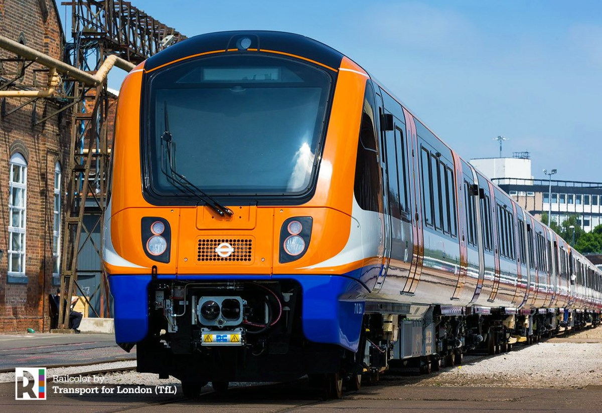 [UK] First new Aventra for London Overground unveiled
