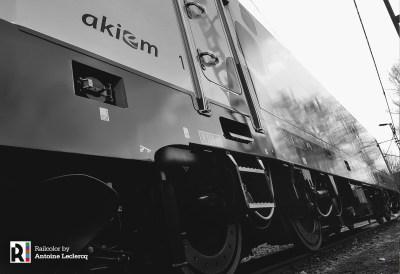 Maiden run of Akiem 186 384 on 27.03.2018 - Kassel - Photo: Antoine Leclercq