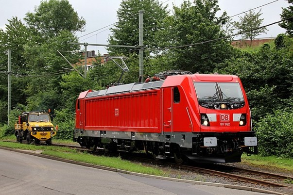 DB Cargo 187 082 in Kassel on 27.07.2017 - Photo: Christian Klotz