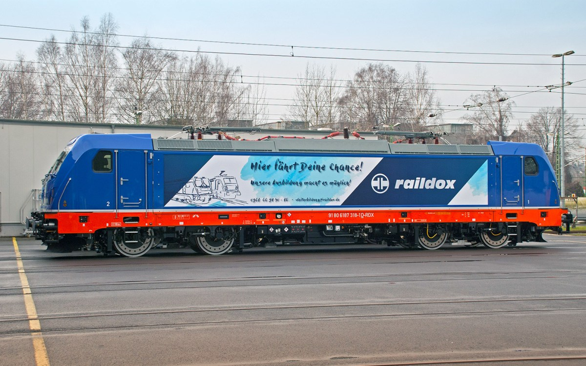[DE] Raildox receives second TRAXX AC3 electric from Bombardier