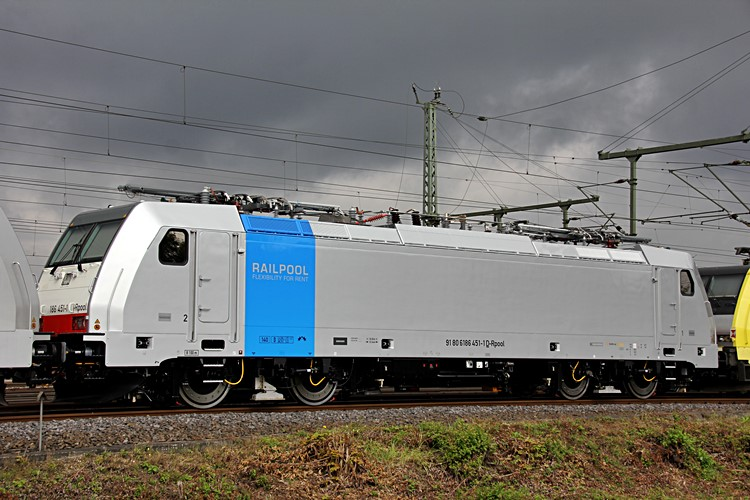 Railpool 186 451 - Photo: Christian Klotz