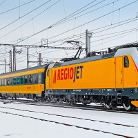 [CZ] In the picture: RegioJet TRAXX 3 working passenger trains [updated]