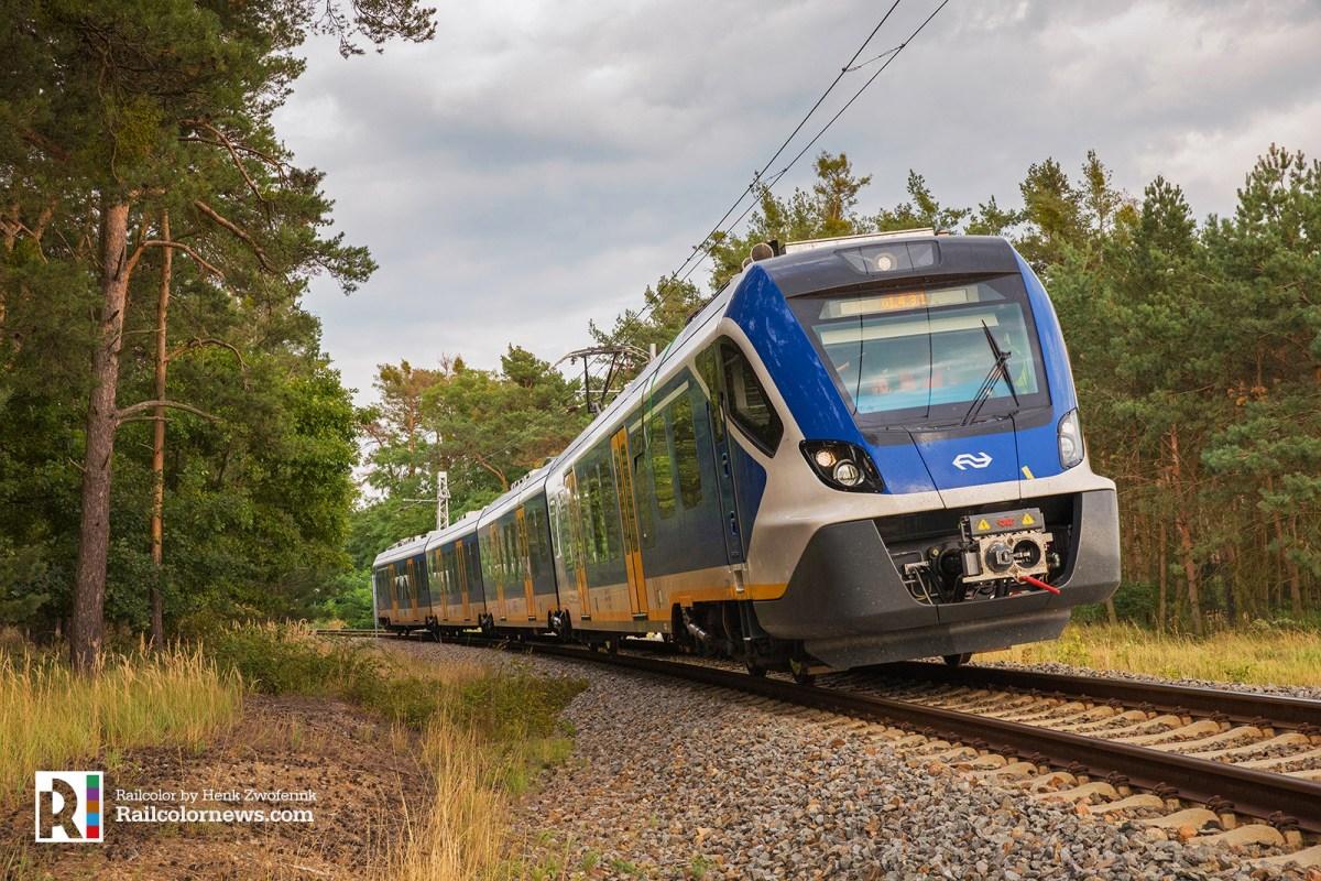 [NL] CAF 'Sprinter' trains arrive in the Netherlands