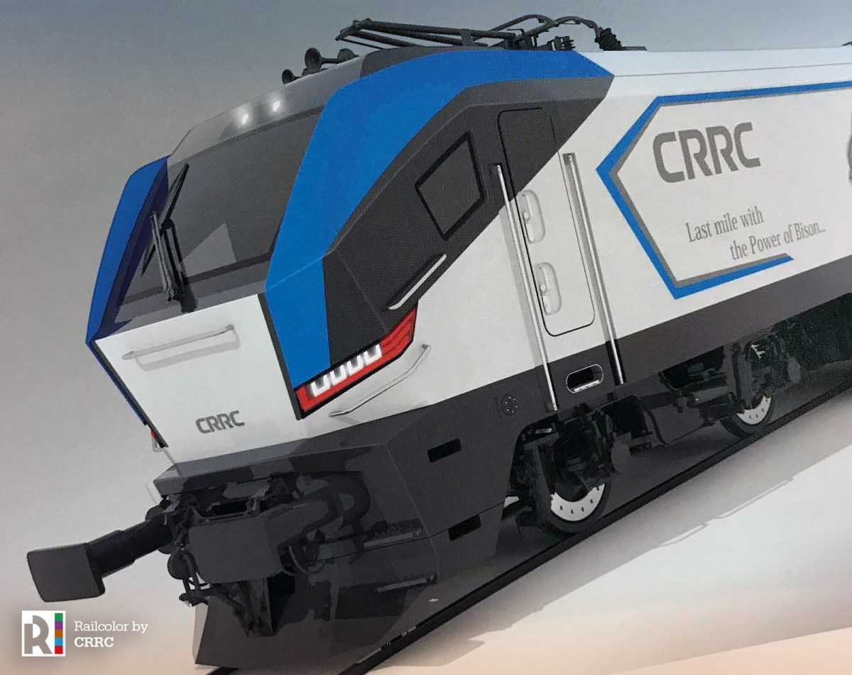 [CN] CRRC showcases TSI compliant electric MS locomotive for Europe