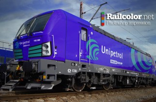 Photoshop impression: Railcolor Design - This image has no relation to Siemens or Unipetrol Doprava
