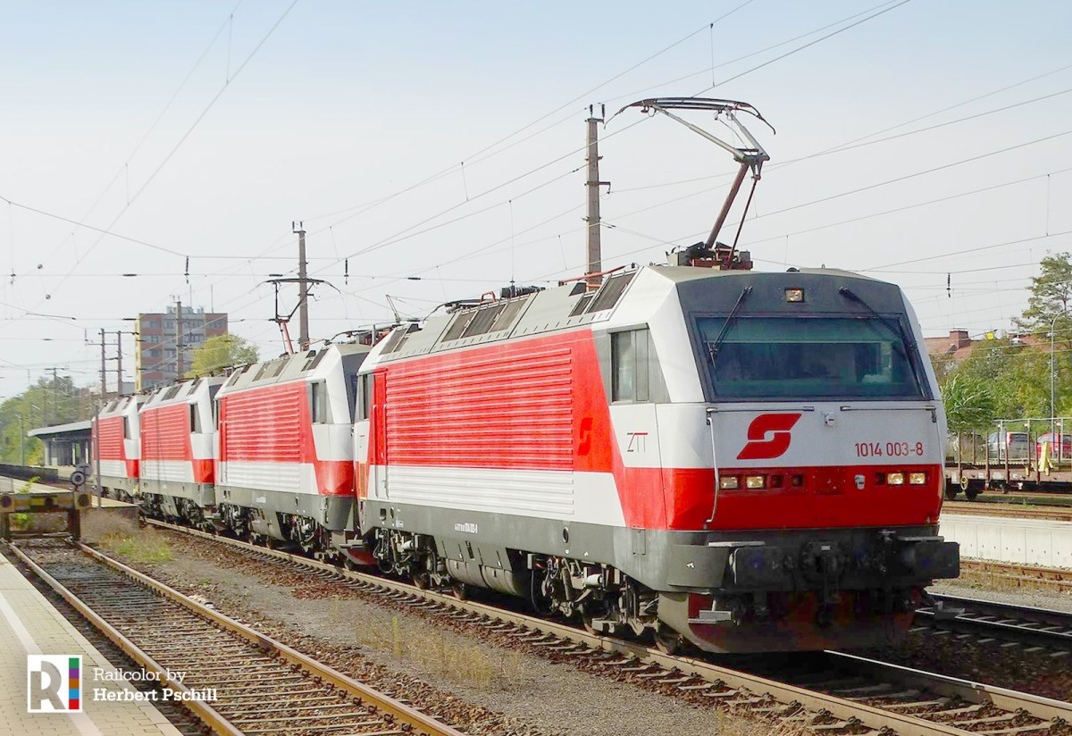 [AT] Zeller Transport Technik acquires 1014s; former ÖBB locomotives return to service