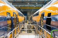 The first 6-car train under revision - Roel Hemkes