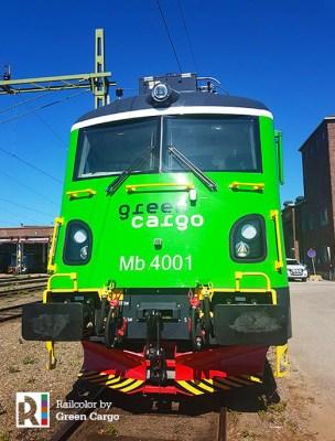 Photo: Green Cargo