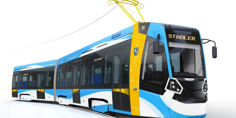 the design impression shows a tramdesign that is very similar to the Metelitsa design for St. Petersburg. Design impression: Stadler Rail