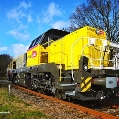 Akiem>SNCF Réseau 675023 in Kiel on 11.03.2020 - Berthold Hertzfeldt
