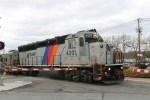 A N.J. Transit train departs from Montvale, N.J. on Feb. 10, 2016.