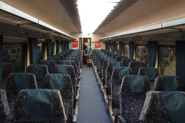 Onboard An Economy Class Xpt Sitting Car Wongm S Rail