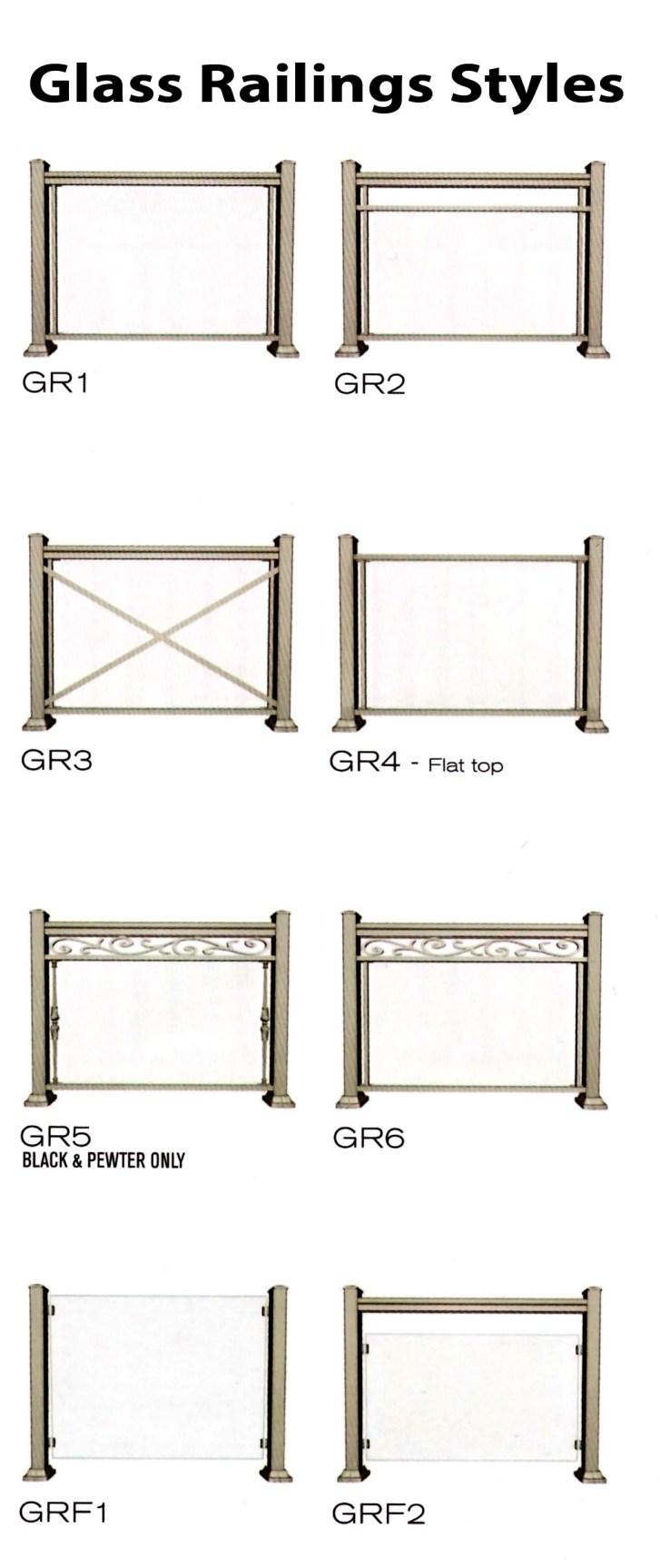 TorontoProRailings-GlassRailings-Styles