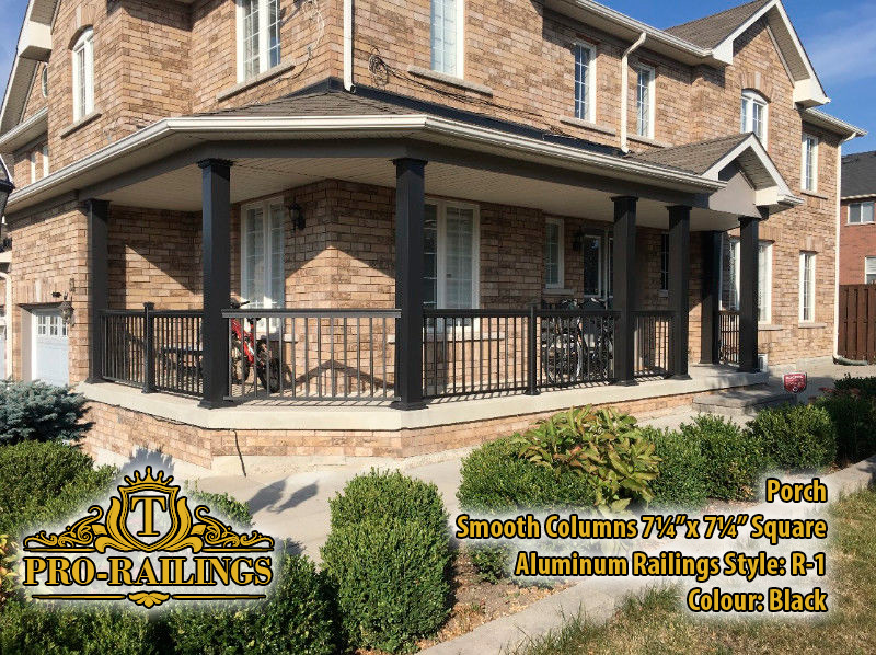 TorontoProRailings-Aluminum-Smooth-Columns-7_25x7_25-Square-Aluminum-Railings-Style--R-1-Colour--Black-Porch