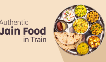 Jain food in train jounrey