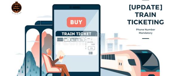 [Update] Train Ticketing